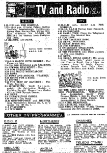 From the Daily Express of 1 December 1965